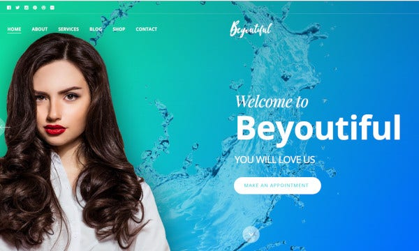 beyoutiful – seo optimized wordpress theme