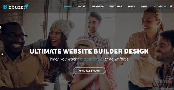 BizBuzz Responsive WordPress Theme