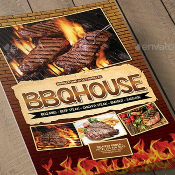 blazing flame barbecue menu format