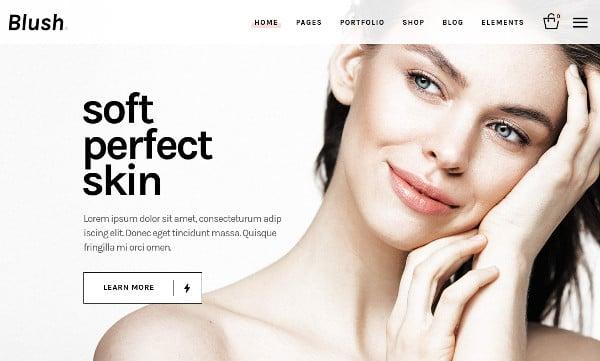 blush a trendy and lifestyle wordpress theme