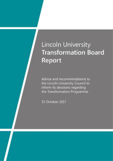 board report sample 01