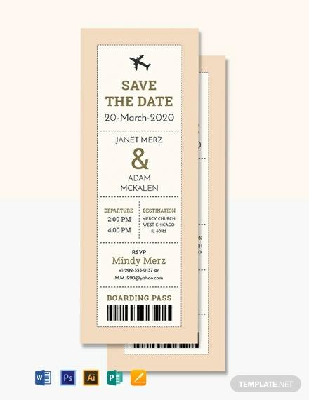 boarding pass ticket wedding invitation template 440x570 1