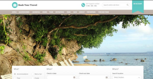 book your travel online booking