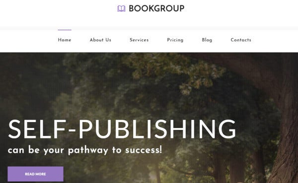 bookgroup-customizable-wordpress-theme
