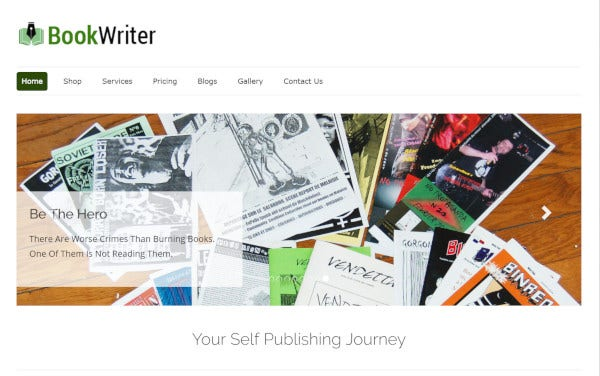 bookwriter-css-enabled-wordpress-theme
