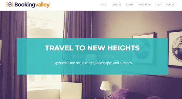 bookingvalley – responsive wordpress theme
