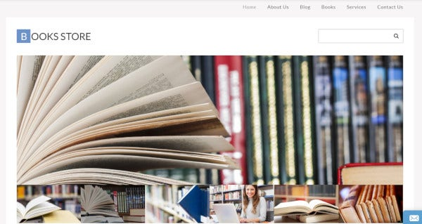 books-store-parallax-wordpress-theme