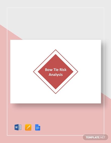 bow tie risk analysis