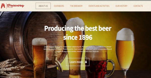 Brewery SEO Friendly WordPress Theme