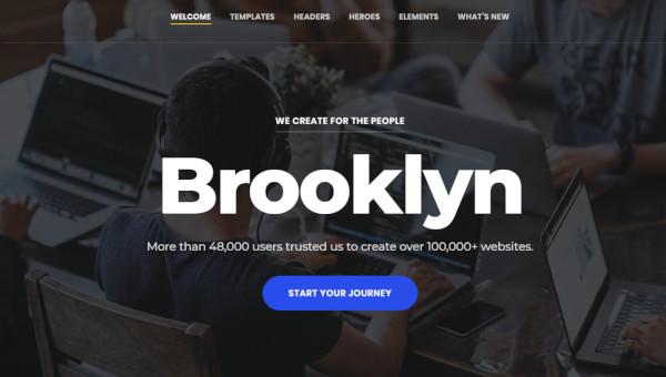 brooklyn – colourful wordpress theme