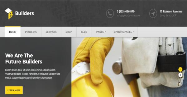 Builders - WooCommerce Ready WordPress Theme