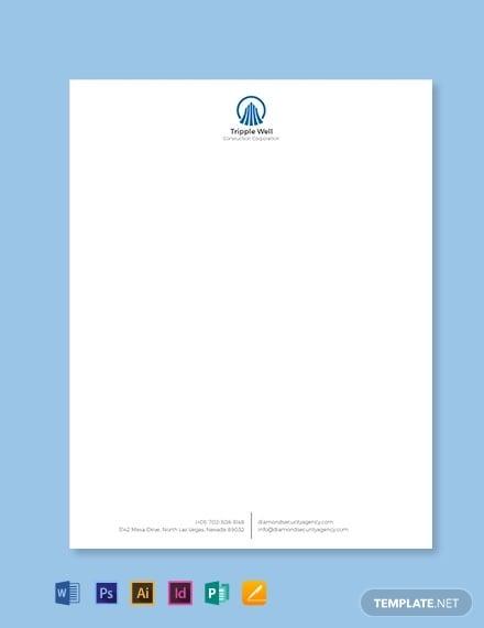 building construction letterhead template 440x570 1