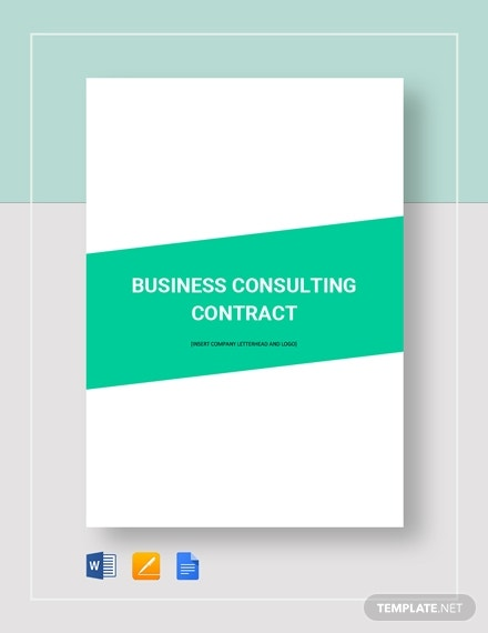 business consulting contract 6