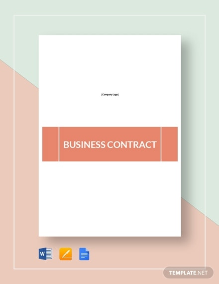business contract 4