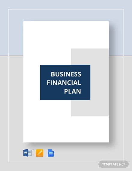 business financial plan templat