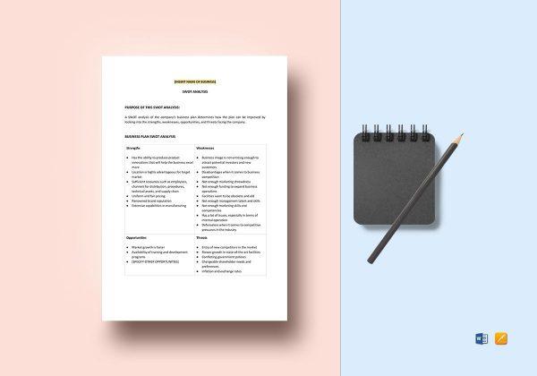 business-plan-swot-analysis-template