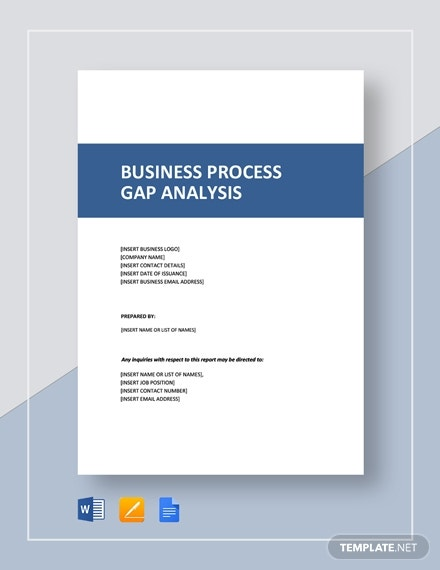 business process gap analysis