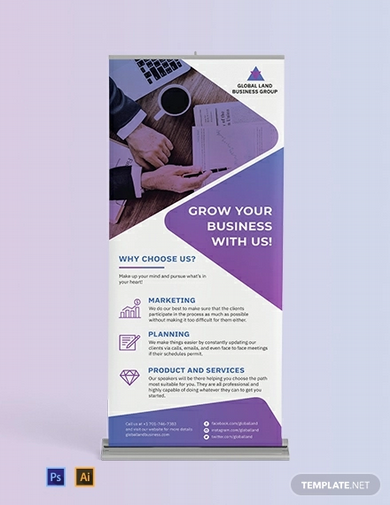 business roll up banner template1