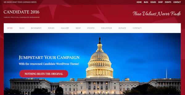 candidate – responsive wordpress theme
