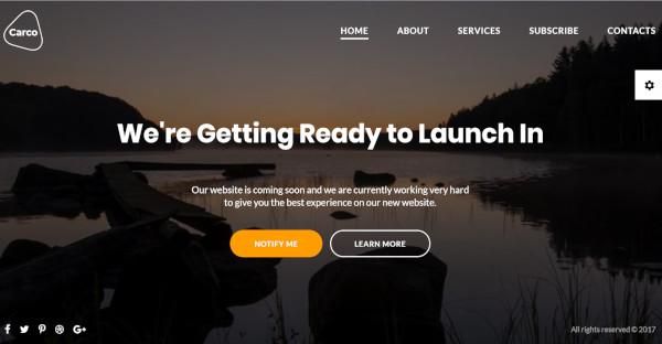 Carco - Bootstrap WordPress Theme