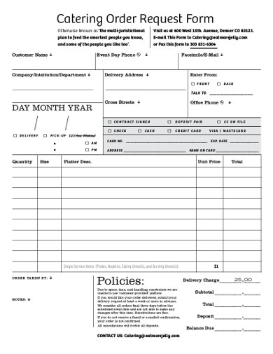 catering-form