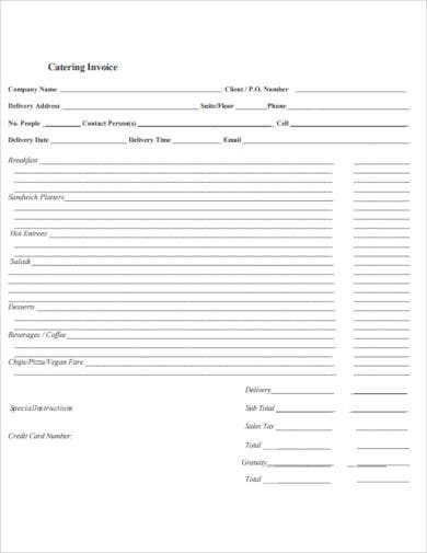 catering-invoice-example