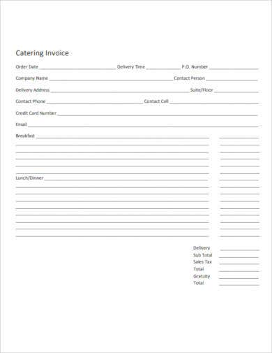 catering-invoice-sample