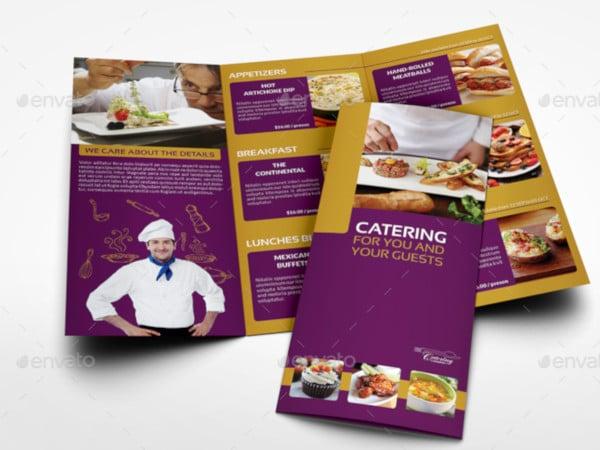 catering-tri-fold-brochure-template