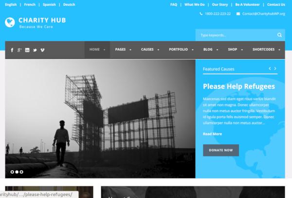 charity-hub-nonprofit-fundraising-wordpress