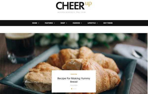 cheerup 1000 layout designs wordpress theme