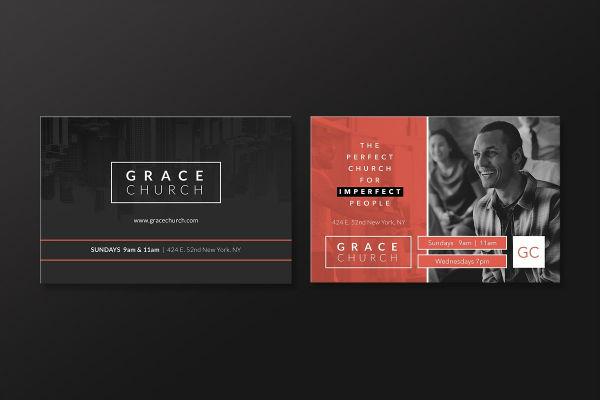 church-essentials-postcard-template