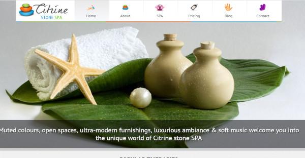citrine spa a feminine blog wordpress theme