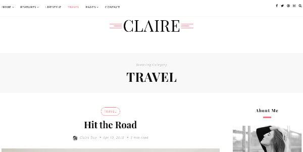 claire-translation-ready-wordpress-theme