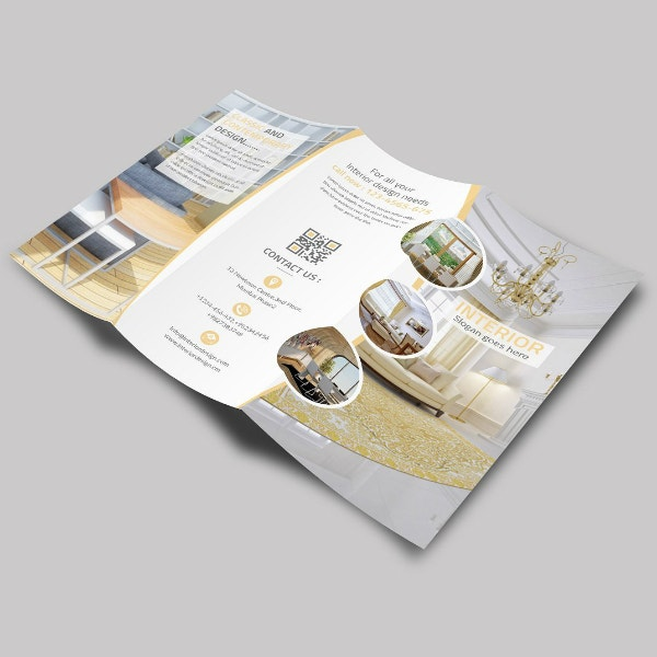 Classic Interior Tri-Fold Brochure Sample