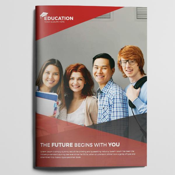 Clean Minimal Education Brochure Example