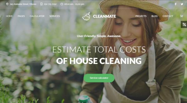 cleanmate-seo-friendly-wordpress-theme