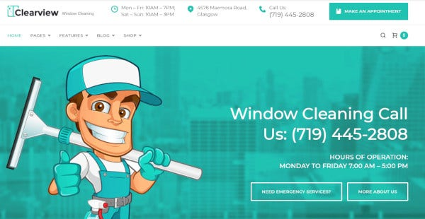 clearview html5 and css3 wordpress theme