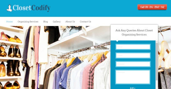 closet codify – widget ready wordpress theme template