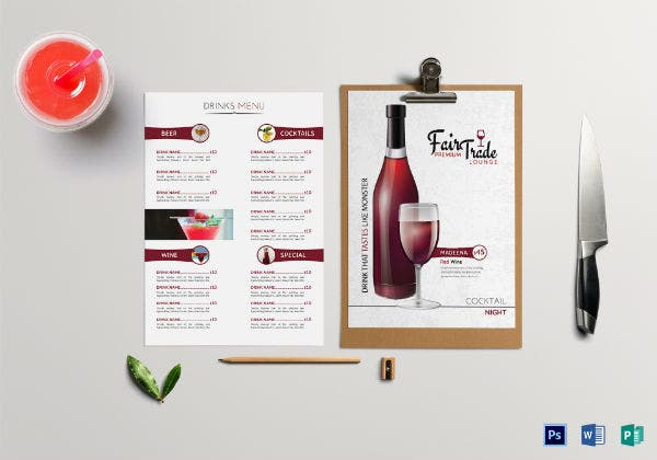 cocktail-drinks-menu-template