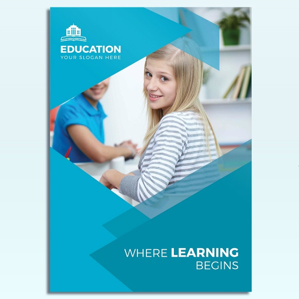 College Educational Learning Brochure Layout