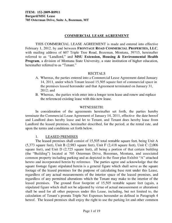 How To Create A Commercial Lease Agreement 10 Templates To
