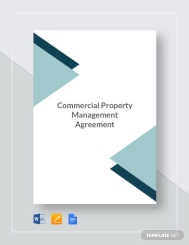 commercial property management agreement template