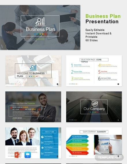 company marketing plan powerpoint example