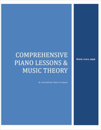 comprehensive piano lesson