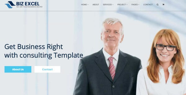 consulting – css3 and html 5 wordpress theme