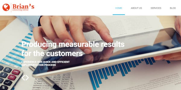 consulting – fully responsive wordpress theme