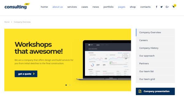 consulting – mailchimp wordpress theme1