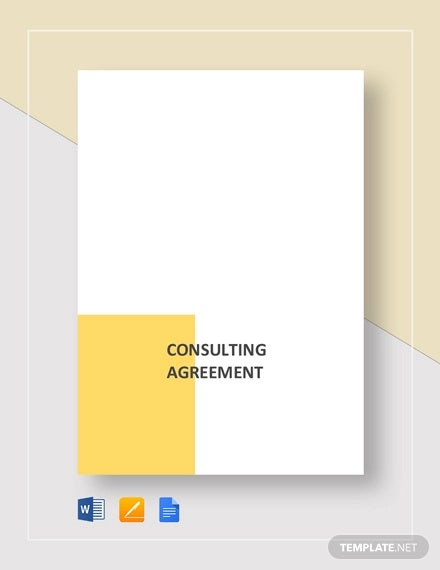 consulting agreement template1