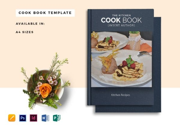 cookbook template mock up