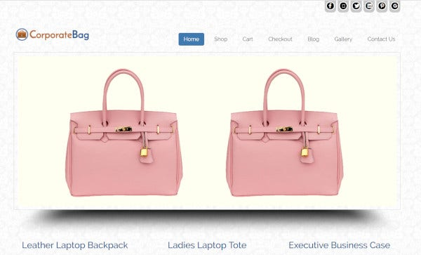 corporate bag – seo optimized wordpress theme